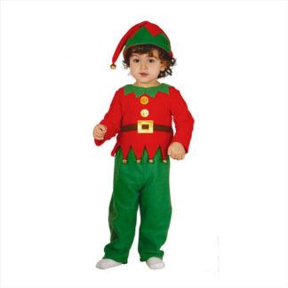 Costume elfo baby 12 - 24 mesi