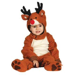Costume Renna Baby 6 - 12 mesi