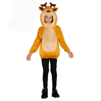 Costume Renna unisex 5 - 6 anni