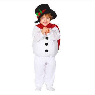 Costume pupazzo di Neve baby 12 - 24 mesi