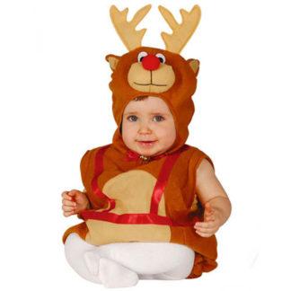 Costume Renna Natale baby 6 - 12 mesi