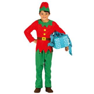 Costume Elfo unisex 7 - 9 anni