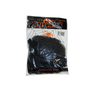 Ragnatela nera con ragni gr 20