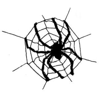 Ragnatela con ragno gigante cm 240 x 240