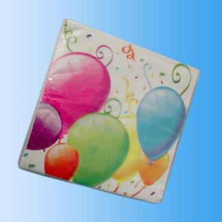 Tovaglioli in carta Balloons 20 pezzi