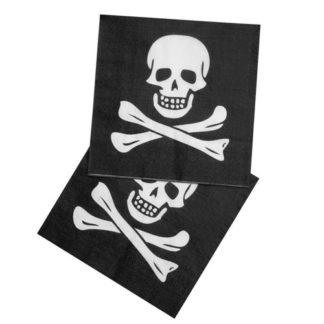 Tovaglioli per festa pirata 12 pezzi
