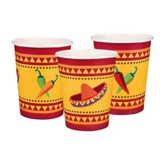 Bicchieri per festa messicana 6 pezzi