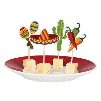 Stecchini Party Mexico 12 pezzi