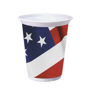 Bicchieri American party BIG 420 ml in pvc 8 pezzi
