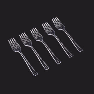 Mini forchette in confezione da 50 pezzi