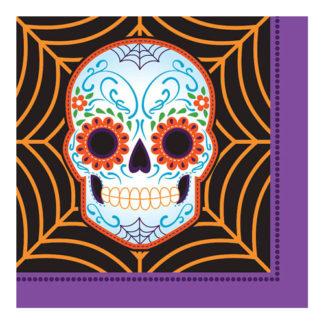 Tovaglioli Dia de Los Muertos 16 pezzi