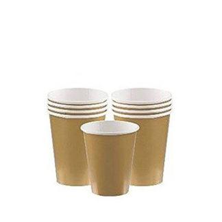 Bicchieri oro 8 pezzi