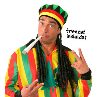 Cappello giamaica con rasta