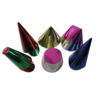 Cappellini metallizzati carta confezione 100 pz.