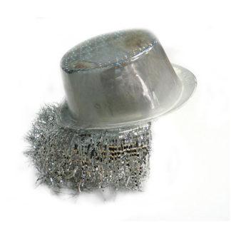 Cilindro hologram argento