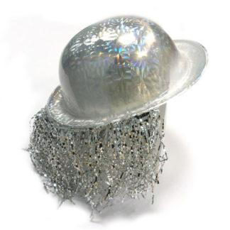 Bombetta hologram argento
