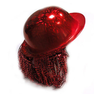 Bombetta hologram rossa
