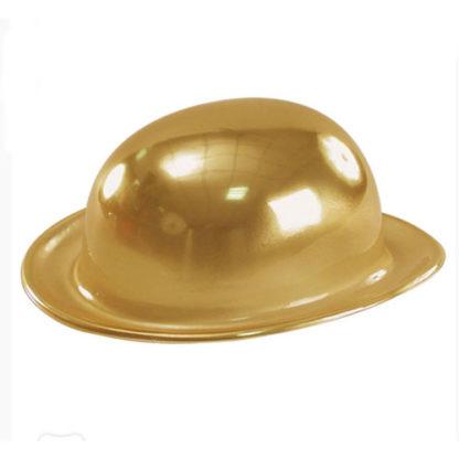 Bombetta metallizzata oro