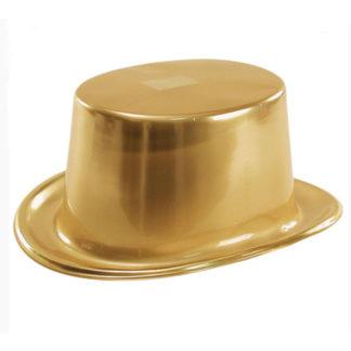 Cilindro metallizzato oro