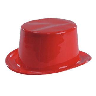 Cilindro plastica rosso