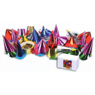 Cappellini carta metallizzati medi 72 pz.