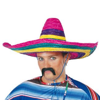 Sombrero paglia multicolor