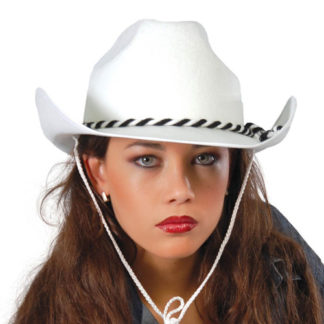 Cappello da Cow Boy Bianco