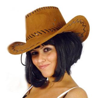 Cappello cow boy marrone