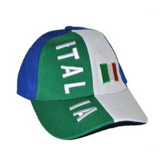 Cappello Italia con visiera