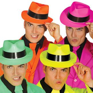Cappelli Neon assortiti conf 12 pezzi