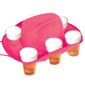 Cappello cowboy Drinka Birra Rosa