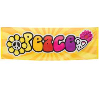 Banner Peace festa anni 70 mt 2