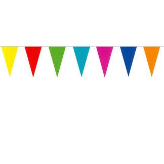 Bandierine carta multicolor mt 10