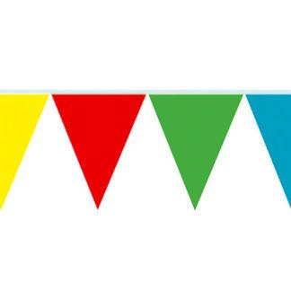 Bandierine pvc multicolor mt 10