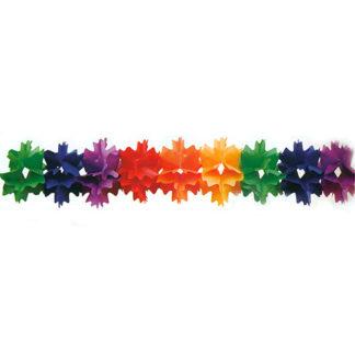 Festone Stelle Multicolor mt 4
