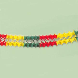 Festone multicolor in pvc mt 5