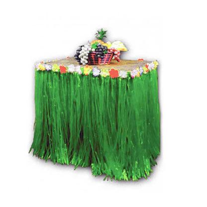 Bordo tavola hawaiano con fiori mt 2,80