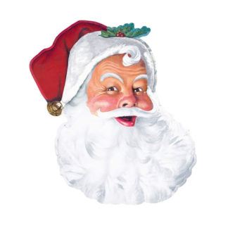 Decoro Babbo Natale cm 66