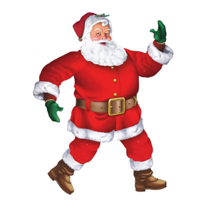Decoro Babbo Natale maxi