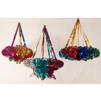 Pendoni multicolor assortiti set 10 pezzi