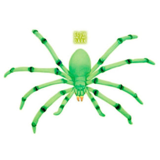 Ragno fluorescente maxi cm 80