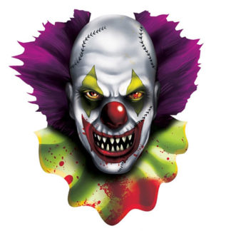 Decoro Clown assassino cm 40