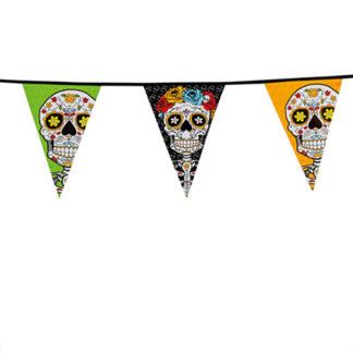 Bandierine Dia de los Muertos mt 10