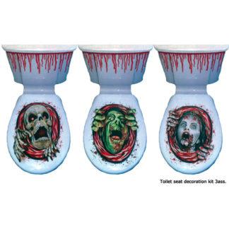 Decorazione Zombie Horror WC