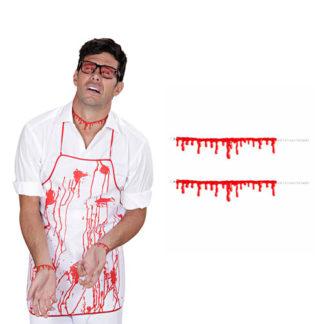 Braccialetti Gocce di sangue conf. da 2 pezzi