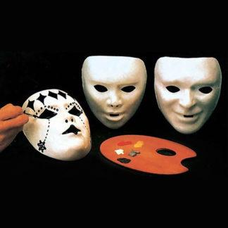 Maschera bianca da dipingere