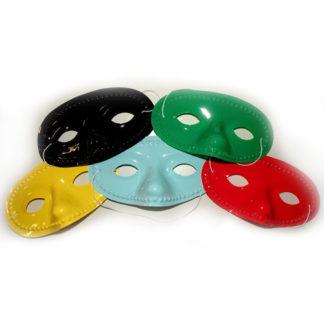 Maschera domino pvc colori assortiti
