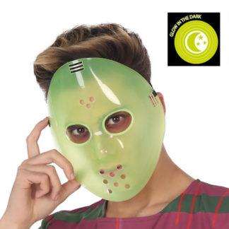 Maschera Jason Venerdì 13 fosforescente