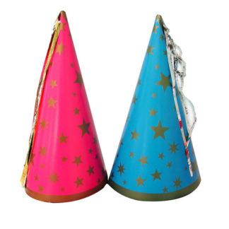 Cappello fatina in cartoncino colorato