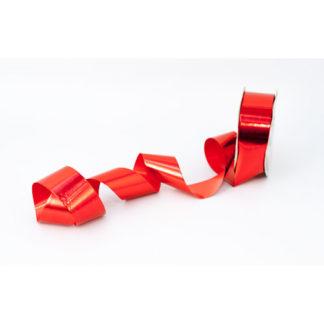 Nastro in bobina rosso lucido mt 100